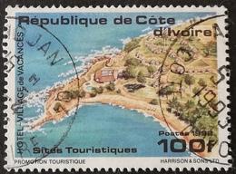 Ivory Coast 1992 Tourist Attractions USED - Ivory Coast (1960-...)