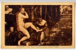 Tintoretto - Parigi Museo Nazionale Di Louvre - Susanna Al Bagno - Formato Piccolo Non Viaggiata – E 13 - Musei