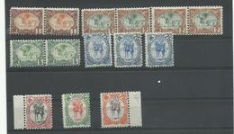C.F. Somalis, Lot Timbres Neufs **, N° 37-38-40-45-46-48-49 Cote YT 287€30 - Côte Française Des Somalis (1894-1967)