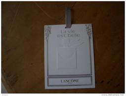 Carte Lancome La Vie Est Belle EDP Ruban Gris A/patch - Modern (from 1961)