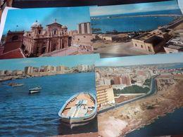6 CARD MARSALA PORTA GARIBALDI PANORAMA DUOMO E PORTO   VBN1966/82 HD10428 - Marsala