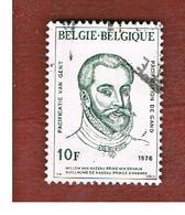 BELGIO (BELGIUM)   - SG 2444  - 1976  GHENT PACIFICATION: PRINCE OF ORANGE  - USED - Belgio