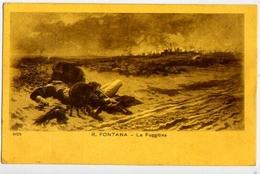 R.fontana - La Fuggitiva - Formato Piccolo Viaggiata – E 13 - Cartoline