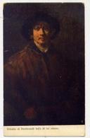 Ritratto Di Rembrandi Fatto Da Lui Stesso - Formato Piccolo Non Viaggiata – E 13 - Cartoline