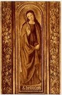 Saint Devote Per Louis Brea - Detail Du Retable De Saint Nicolas A Cathedrale De Monaco - Formato Piccolo Viaggiata – E - Cartoline