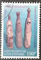 Ivory Coast  1979 USED  Musical Instruments - Ivory Coast (1960-...)