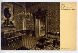 Sala Di Prometeo - L.pogliaschi - Foto V.aragozzini - Sede Della Famiglia Meneghina - Milano - Formato Piccolo Viaggiata - Cartoline
