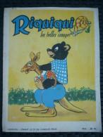 Riquiqui Les Belles Images N°3/ Janvier 1952 - Bücher, Zeitschriften, Comics