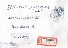 ! 1 Einschreiben 1992  Mit Alter Postleitzahl + DDR R-Zettel  Aus Schafstedt, 4208, Dauerserie Frauen - Briefe U. Dokumente
