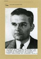 PAUL J. FLORY  Prix Nobel De Chimie  En 1974 - Personnes Identifiées