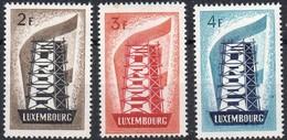 EUROPA - CEPT - 1956 - LUXEMBOURG - X - Mint Hinged - Neufs Avec Charnière - Europa-CEPT