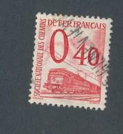 FRANCE - COLIS POSTAUX N°YT 35 OBLITERE - COTE YT : 9€ - 1960 - Colis Postaux