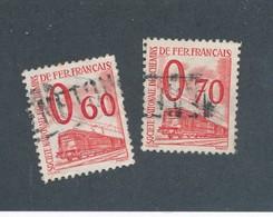 FRANCE - COLIS POSTAUX N°YT 37/38 OBLITERES - COTE YT : 9€ - 1960 - Colis Postaux