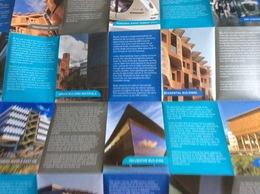 Masdar City, Abou Dabi, Émirats Arabes Unis, Masdar City Visitor's Map (dépliant : 11,5x8,5 Cm - 56x44 Cm, Déplié) - Exploration/Travel