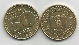 Yugoslavia 50 Para 1999.  KM#174 - Jugoslavia