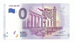 Euro Souvenir France Charentes Maritimes  Ile De Ré Âne Phare Des Baleines Pont Marais Salants - Specimen
