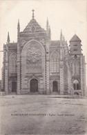 SAINT-JULIEN-de-VOUVANTES - Eglise : Façade Principale - TBE - Saint Julien De Vouvantes