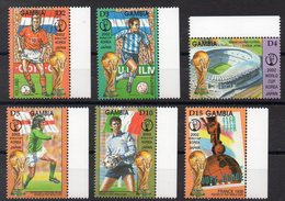 GAMBIE Timbres Neufs ** De 2001  ( Ref 667 A ) Sport - Football - Gambie (1965-...)
