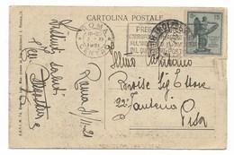 DA ROMA A PISA 21.11.1821. - 1900-44 Vittorio Emanuele III