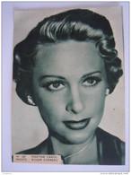 160 Martine Carol Photo Foto Vintage Cinema Flyer Belge Torhout - Photos