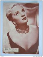 182 M. Zetterling Photo Foto Vintage Cinema Flyer Belge Torhout - Photos