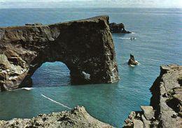 1 AK Island Iceland * Dyrholaey (Türlochinsel) - Eine 115 M Hoch Aufragende Halbinsel Im Süden Islands * - Island