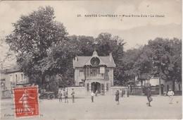 NANTES CHANTENAY - Place Emile Zola - Le Chalet - Animé - Nantes