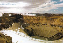 1 AK Island Iceland * Vulkankrater Am Bláfjall * - Island