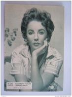 245 Elisabeth Taylor Photo Foto Vintage Cinema Flyer Belge Torhout - Photos