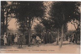 56- QUIBERON - Le Square  ( Animée)  N° 295  Ed  Lannelongue     CPA - Quiberon