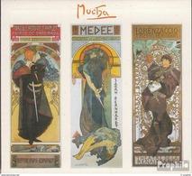 2010 Carnet  C563 Booklet De 6 Timbres Alfons MUCHA  Affiche Sarah Bernhard Dans Gismonda ** MNH - Unused Stamps