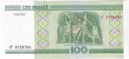 Belarus 100 Rublei 2000 (18) P-26 /025B/ - Belarus