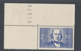 FRANCE - N°YT 464 NEUF** SANS CHARNIERE AVEC BORD DE FEUILLE - COTE YT : 12€50 - 1940 - Unused Stamps