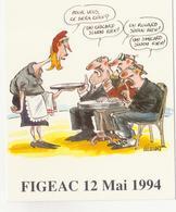 CP - Carte Postale SALON DE FIGEAC 1994.......... - Autres