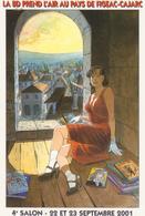 CP - Carte Postale SALON LA BD PREND L AIR A FIGEAC-CAJARC - 2001.... - Autres