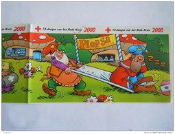 Sticker Autocollant 2000 Strook Van 4 Bande De 4 Rode Kruis Croix Rouge Red Cross Plopsaland Kabouter Gnome - Autocollants