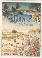 CP -  JUAN LES PINS COMMUNE D ANTIBES - Publicité