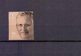 2019 Koning Filip POSTFRIS** 1 Non Prior Zelfklevend N20194 - Bélgica