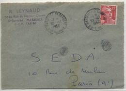 Double DAGUIN Solo Non Signalée - Marseille St Barnabé 1950 - Annullamenti Meccaniche (Varie)