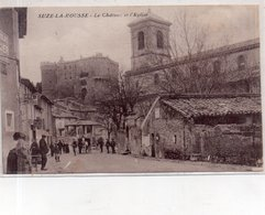 """SUZE LA ROUSSE """"Le Château Et L'église"""" """"(CA ST PAUL ) - Sonstige Gemeinden"""