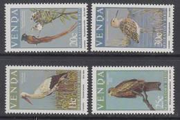 D90819 Venda South Africa 1984 Migratory Birds WATER BIRDS EAGLE MNH Set - Afrique Du Sud Afrika RSA Sudafrika - Venda