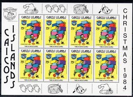 TURQUES ET CAIQUES (Caïques)   Timbres Neufs ** De  1984  ( Ref  6577)  Disney - NOEL - Turks E Caicos