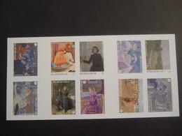 BELGIUM 2013. Theo Van Rysselbergh B138 MNH ** Non Dentele (E59-tvn) - Booklets 1953-....