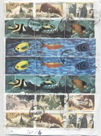 Lot De 21 Timbres Oblitérés Chine China 2010 Stamp Asie Poisson Fish  (14) - 1949 - ... République Populaire