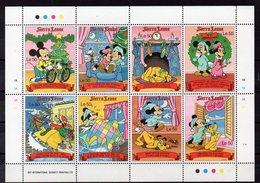 SIERRA LEONE   Timbres Neufs ** De  1990  ( Ref  6578)  Disney - NOEL - Sierra Leona (1961-...)