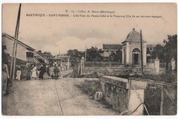 MARTINIQUE- SAINT PIERRE - Ex-Voto Du Fonds-Cohé Et Le Tramway ???  - N° B.84 - Ed  Benoit CPA - Martinique