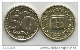 Yugoslavia 50 Para 1995.   KM#163a  High Grade - Yugoslavia