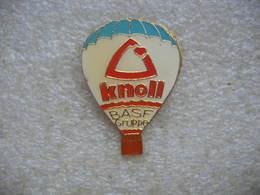 Pin's Mongolfiere KNOLL, Groupe BASF - Montgolfières