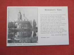 England > Warwickshire  Stratford Upon Avon Memorial Theatre  Ref 3514 - Stratford Upon Avon