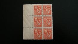 Andorra Española 1948 25 C.x4 MNH Y&T 52** / Ed. 58**(MNH)-47,00 EUR - Briefmarken